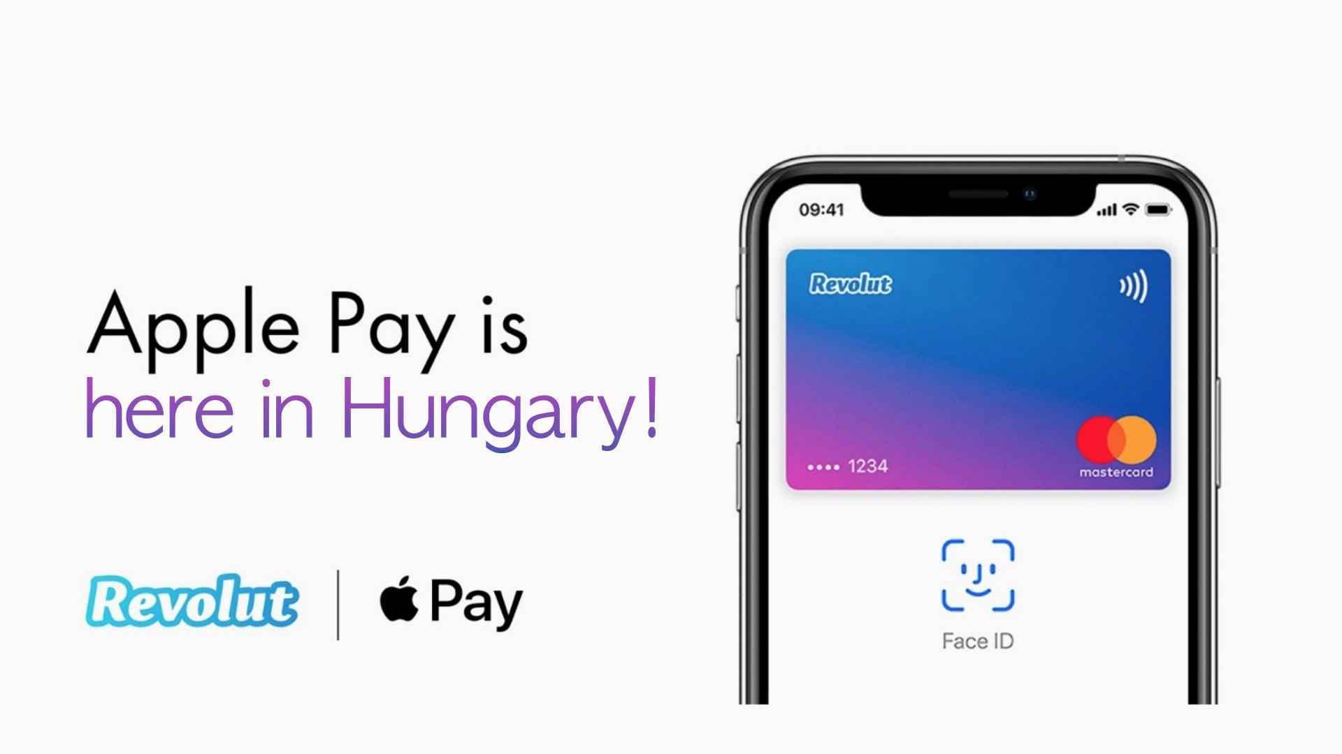 Revolut Apple Pay Hungary