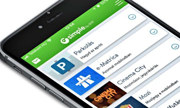 A Simple-ből is hozzáadhatjuk OTP-s bankkártyánkat az Apple Pay-hez