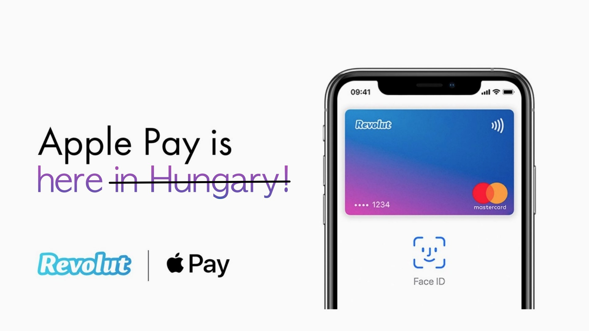 Revolut Apple Pay is not in Hungary