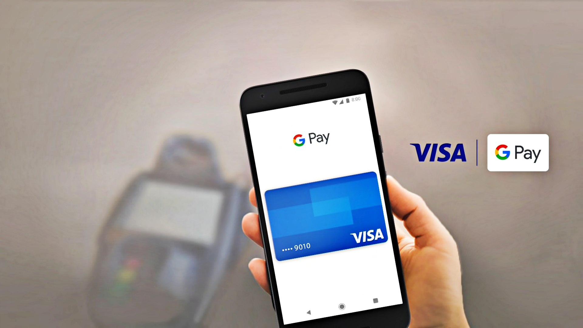 visa google pay mobilfizetes paytechshow
