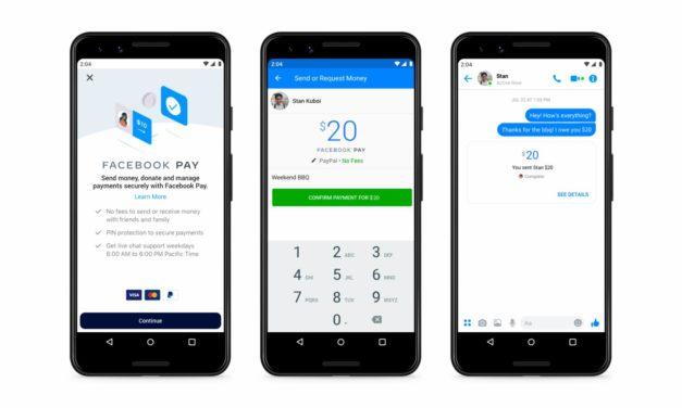 Itt a Facebook Pay, az új digitális tárcád