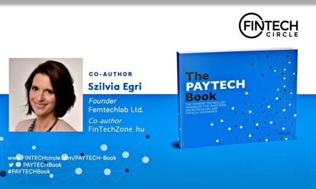Januárban jön a The PAYTECH Book! A FinTechZone szakértője, Egri Szilvia is a szerzők között