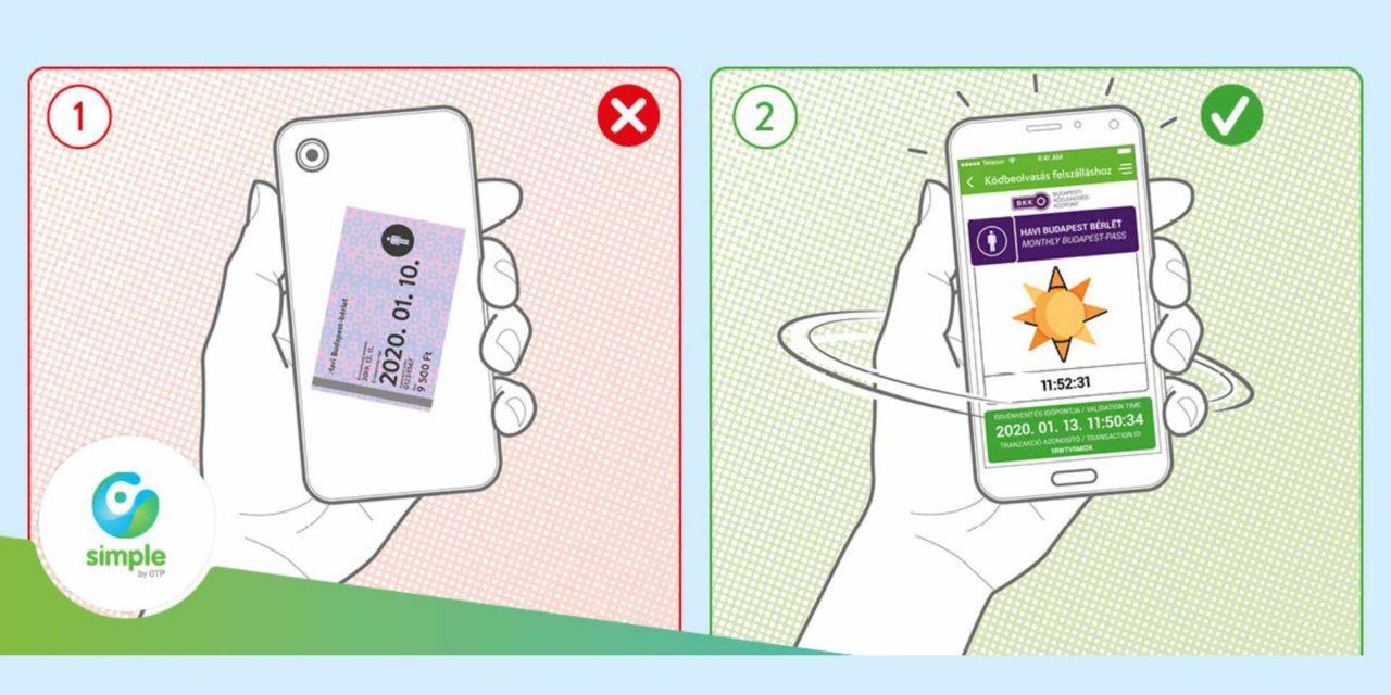 Buszjegy, havi bérlet a Simple-ben. Vedd meg, tárold jegyeidet a mobiltárcádban!