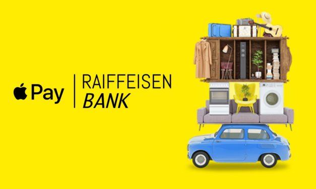 Elérhető az Apple Pay a Raiffeisen Banknál is