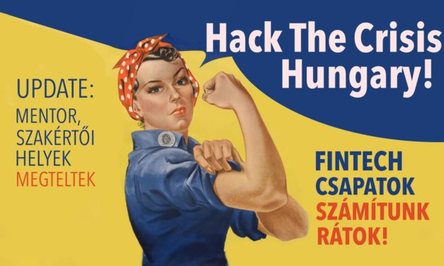 Most a hazai fintech közösség is megmutathatja, mire képes! – Hack The Crisis Hungary!