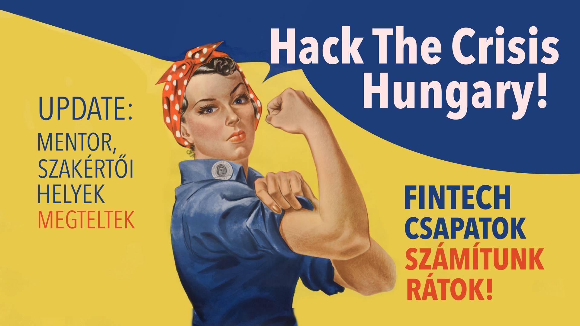 hack the crisis hungary - megtelt FINTECH CSAPATOK-2
