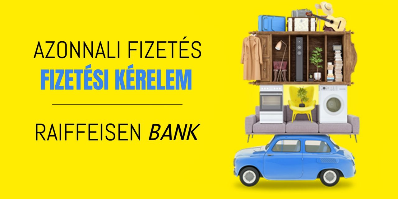 A Raiffeisennél már elérhető a fizetési kérelem szolgáltatás
