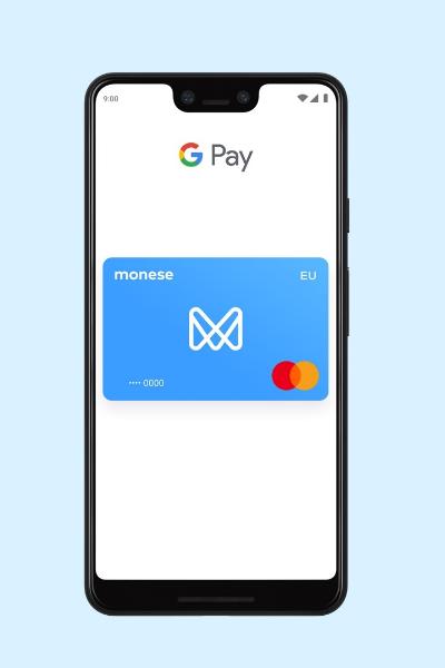 monese google pay
