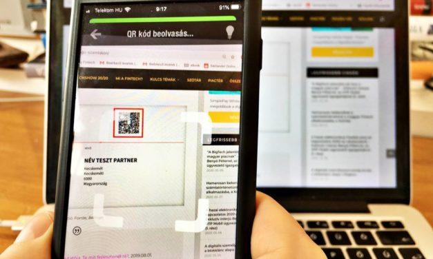 pay@WEB: Elindult a QR-kódos azonnali átutalási szolgáltatás kereskedőknek, bankoknak