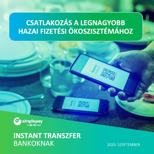 simplepay kiadvanyok instant transzfer bankoknak