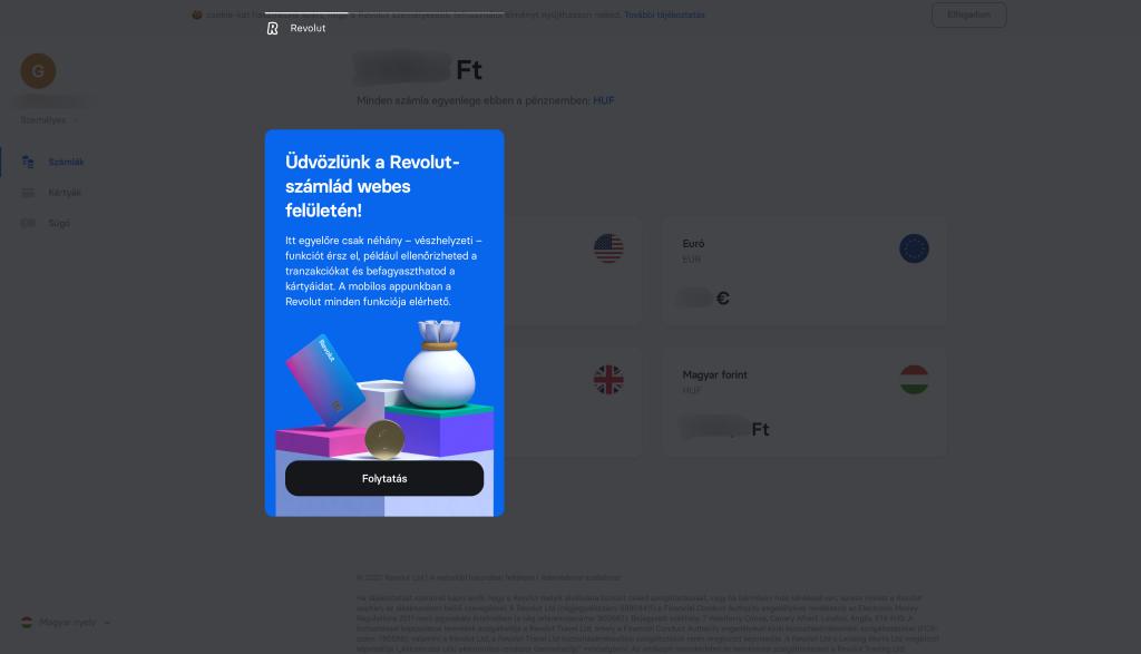 revolut netbank nyito oldal