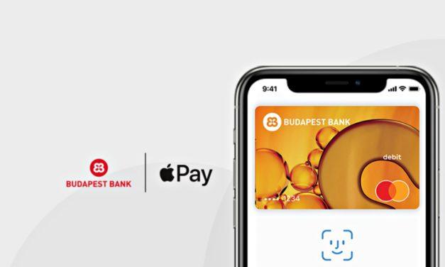 Elérhetővé vált az Apple Pay a Budapest Banknál is