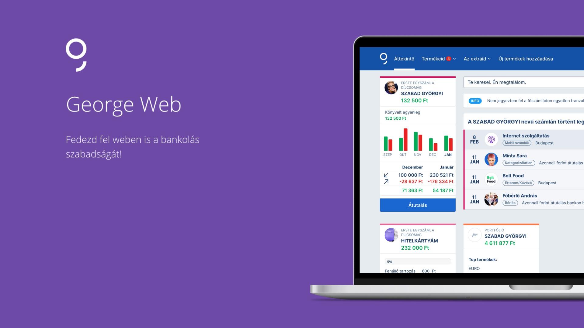 erste bank george web